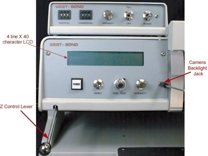 West·Bond Semi-Automatic Wire Bonder Model 454630E (High Frequency)